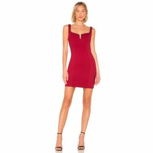 ASTR The Label Girl's Night Out Dress In Cherry